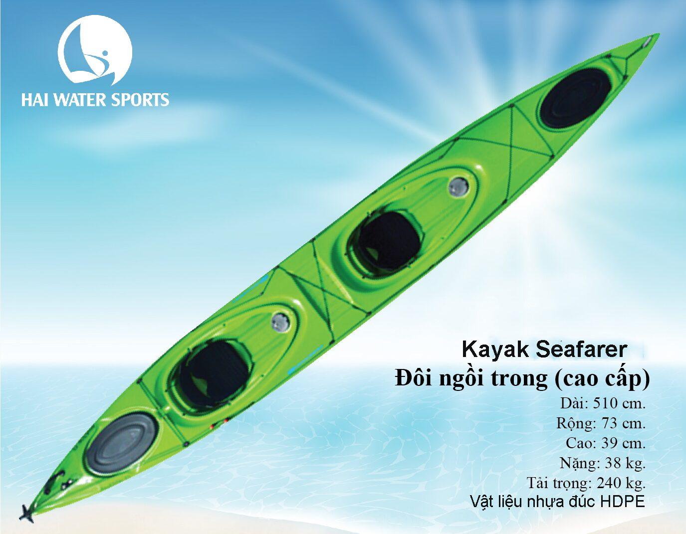 Thuyền Kayak đôi ngồi trong Duluxe