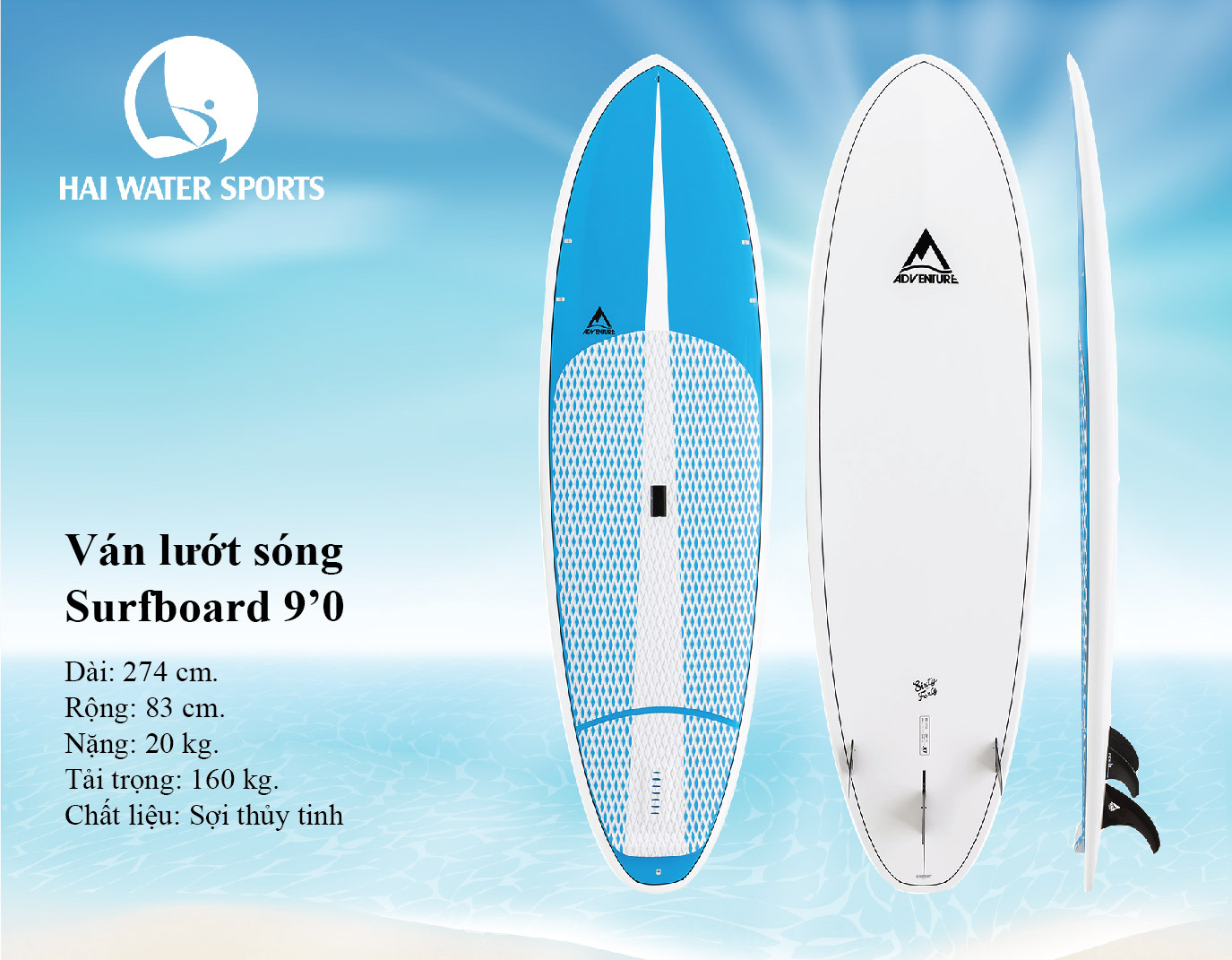 Ván lướt sóng - Surfboard 9'0