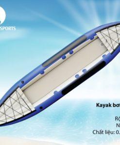 Kayak đôi bơm hơi