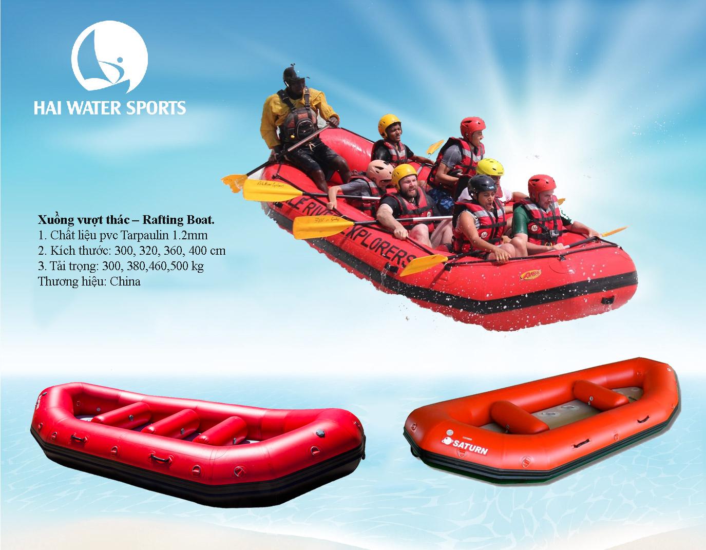 Xuồng vượt thác - Rafting Boat