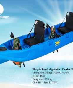Thuyền kayak đạp chân giá tốt