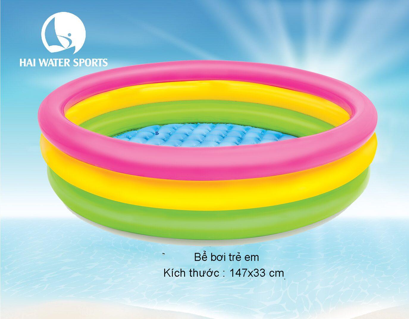 Bể bơi trẻ em 3 tầng