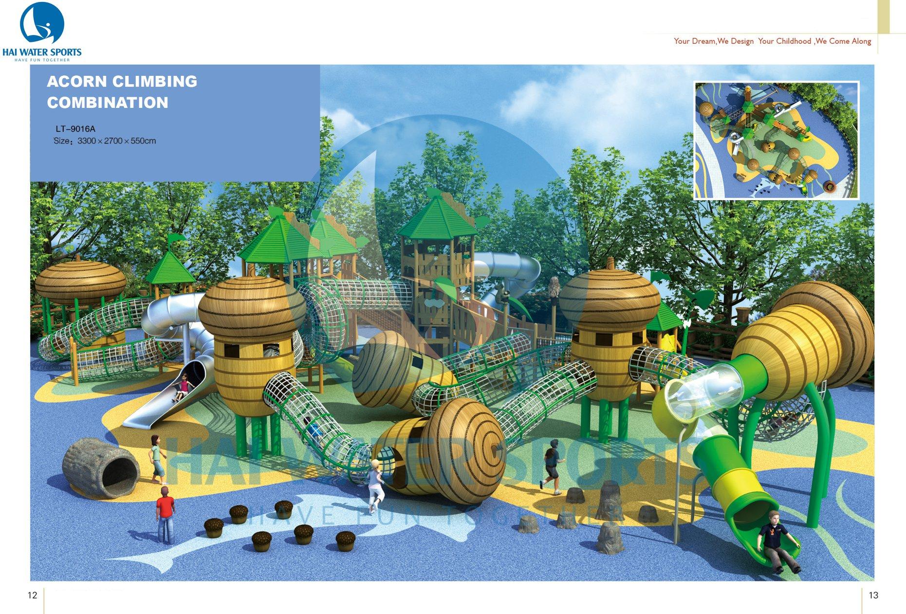Khu vui chơi trẻ em LT9016A