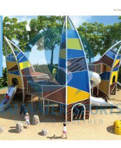Khu vui chơi trẻ em LT9024A