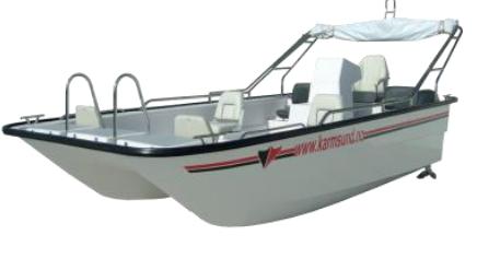 Ca nô composite Karmsund Catamaran
